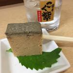 正宗屋 - カステラに芋焼酎ロック
