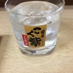正宗屋 - 芋焼酎ロック