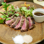 73123353 - 2017/9/14  ランプ肉のステーキ  1,890円