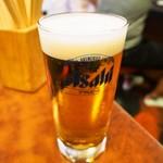 ひょうたん - 生ビール
