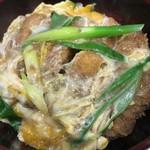 あづま - カツ丼(ご飯少な目)
