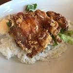 レストラン花 - 料理写真:山賊焼丼