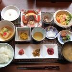和食膳、いただきま〜す