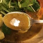 サッポロ スープカレー 浅野屋 - スープはこんな感じ