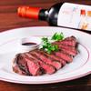 松阪牛のステーキ 赤ワインソース