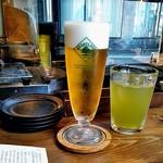 臥薪 - ハートランドとサービス緑茶