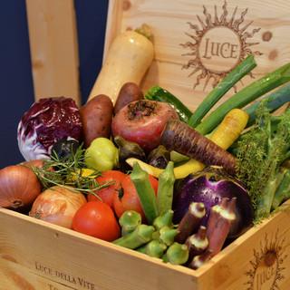 彩豊かなヨーロッパ野菜から、国産の有機野菜に拘ります!