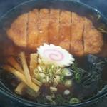 一福亭 - 料理写真:カツラーメン 醤油味