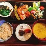 organic cafe ごぱん - 料理写真:玄米定食