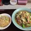 中華料理ニイハオ - 料理写真:焼味噌チャンポンとミニチャーハンセット 650円