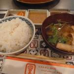 紅花別館 - ご飯とお味噌汁