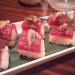 居食屋 響 - 鰹 握り寿司