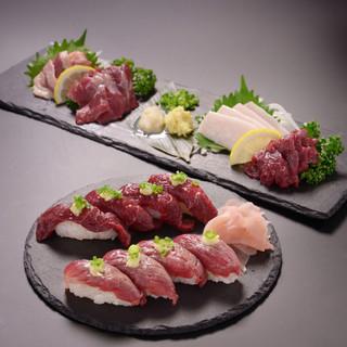 ◆こだわりの新鮮馬馬肉◆栄養価が高い食材として有名です♪