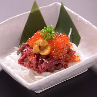 【食べていただきたい一品】◆贅沢の極みユッケ1980円◆