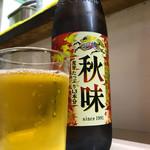 岐阜屋 - 瓶ビール600円