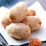 酒肴菜や 利一 - 煮っころがし海老芋の唐揚げ