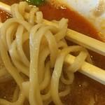 赤坂飯店 - 麺がモチモチの食感