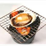 ヤン衆料理 北の漁場 - 活あわびバター焼き 1個