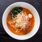クリーミーTonkotsuラーメン 麺家神明 - クリーミー担々麺