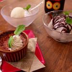 バルセン - デザートは3種類