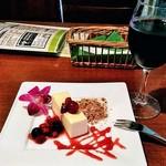 73146416 - 幻のチーズケーキと赤ワイン