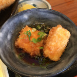 73146997 - はまーカツ定食/揚げ出し豆腐