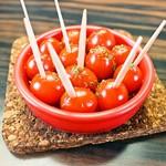 プチトマトのアヒージョ