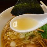 ら~めん 寺子屋 麺倶楽部 - スープ