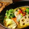 たっぷり野菜のスープカレー