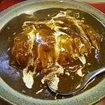 マサラ - 料理写真:オムライスカレー(ルー大盛り)
