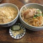 更科 - ぶっかけ定食 700円 (2017.9)