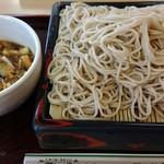 花村 - 志の田そば特盛 (780円)