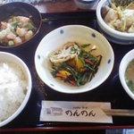 のんのん - おかずを3品選べる定食