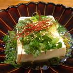 ビヤホールライオン - ねぎ塩豆腐