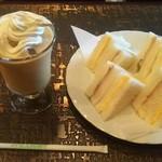 喫茶プロト - 料理写真:ティーオーレ ミックスサンドイッチ