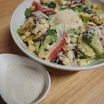 栄養たっぷり!『新鮮サラダ!!』
