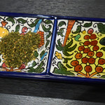 ミシュミシュ - ザータル、オリーブオイル