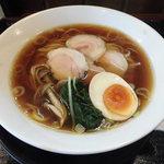 麺創なな家 - 料理写真:参州マタギそば(醤油)