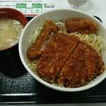 駒ヶ岳サービスエリア(下り線)スナックコーナー - ソースカツ丼