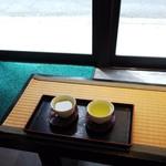 壽々喜園 - 水出し緑茶(1杯) ¥100