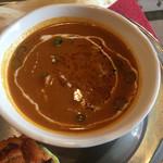 本格印度料理バターチキン - ひよこ豆とチキンのカレー