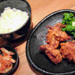 Musoushin - 唐揚げ定食◎