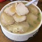 ふくちゃんラーメン - チャーシュー麺