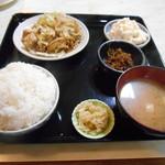 玉川食堂 - 今回の注文(^^)b