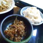玉川食堂 - 小鉢(^^)b