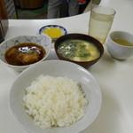 天ぷら定食ふじしま - 最初の配膳♪