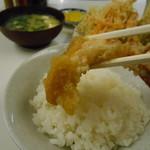 天ぷら定食ふじしま - 頂きますm(_ _)m