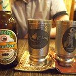 ヤマネコ - ビアラオラガー(ラオスのビール)