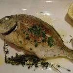 73158373 - メインの魚料理(特注)香草焼き
