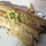 駿河屋 - 白焼は山葵醤油で